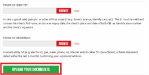 XM Broker Account Verification Procedure
